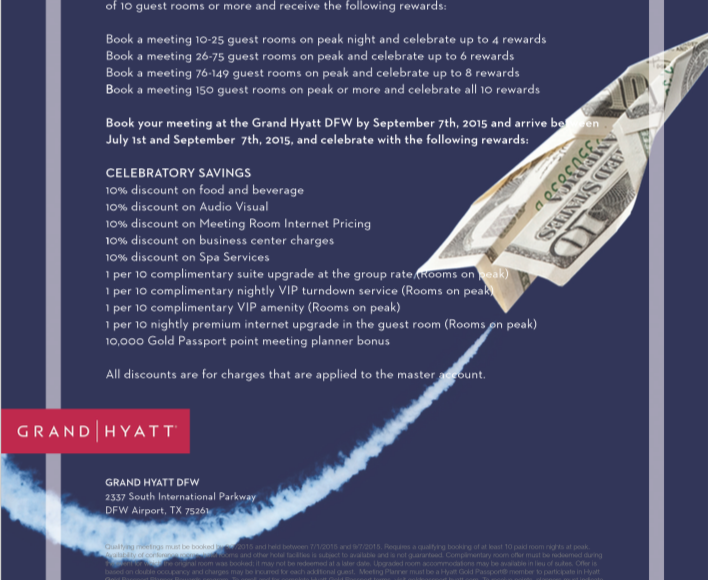 Hyatt DFW Flyer