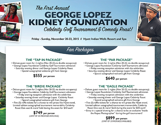 George Lopez Kidney Foundation